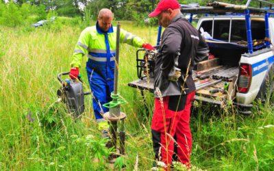 Badania geotechniczne naszej leśnej polany