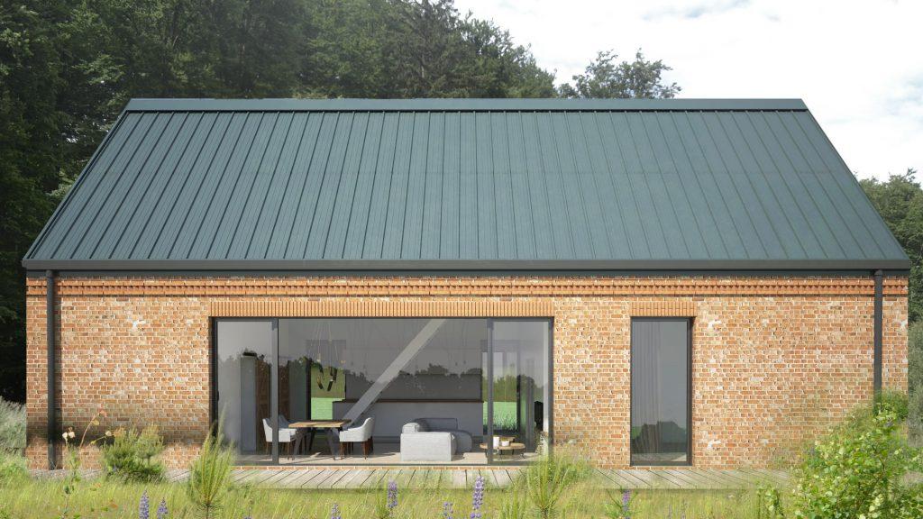 Modern new house Gdansk - leśniczówka na sprzedaż