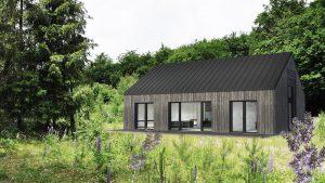 Small modern house Gdansk